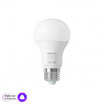 Умная лампа Philips Smart LED Ball ChiRui E27 6.5W CN