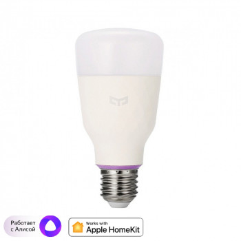 Лампа светодиодная Yeelight Smart LED Bulb S1 Color (YLDP13YL), E27, 8,5Вт