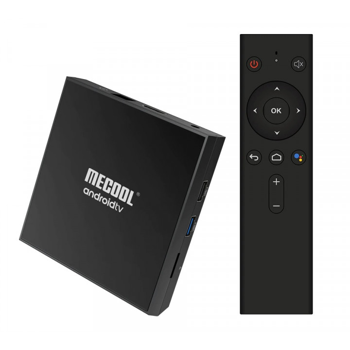 Смарт ТВ приставка MECOOL KM9 PRO Classic 2Gb+16Gb на базе Android TV 9