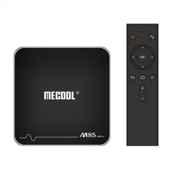 Смарт ТВ приставка Mecool M8S Pro Plus Android TV