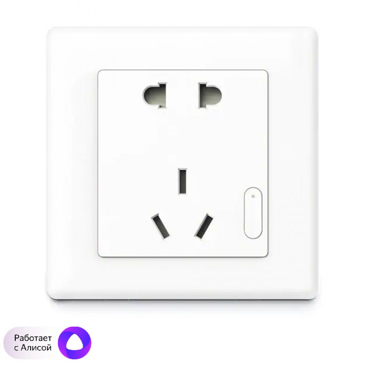 Умная ZigBee розетка Xiaomi Mijia Smart Power Plug